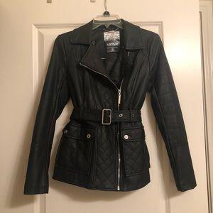 Kensie faux leather jacket